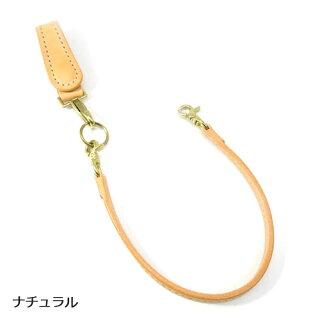 【黒羽】クロウCR-3S(NATURAL)キーホルダー付き平牛ロープホルダー/サドルレザー/ロープ