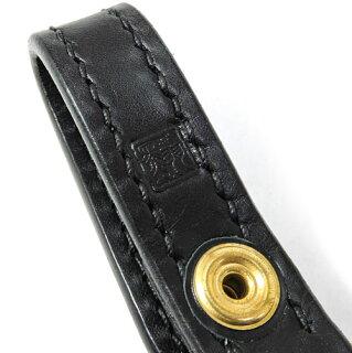 【黒羽】クロウCR-3S(NATURAL)キーホルダー付き平牛ロープホルダー/ナチュラル/サドルレザー