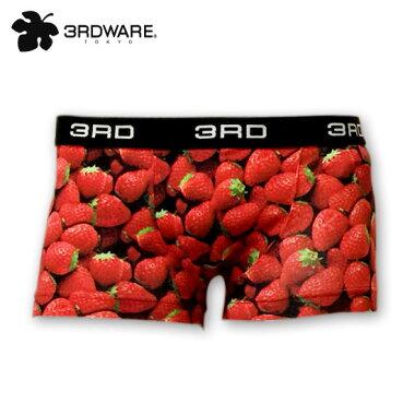 【3RDWARE】サードウェアstrawberry「ストロベリー」3RDWAREボクサーパンツ/アンダーウエア/メンズ