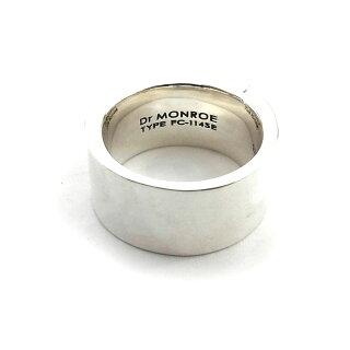 【DrMONROE】ドクターモンローシルバーメンズリング/シルバー×18KGイエローFC-114KSE-SV