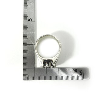 【LONEONES】ロンワンズMFRing:WindRosewithAmythestEmeraldCut(10mmx8mm)-Size3.0-5.5ウィンドローズアメジストエメラルドカット/シルバーリング/アメジスト/天然石