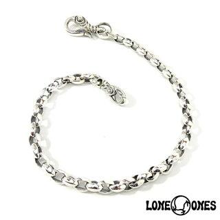 【LONEONES】ロンワンズMFWalletChain-SilkLinkSmallwithSwanClipSmall17inchウォレットチェーン-シルクリンクスモールw/スワンクリップスモール43cm/ウォレットチェーン/シルク/シルバー