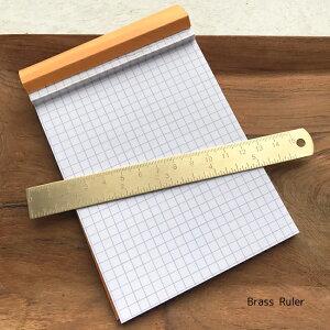 ブラス 定規 真鍮 15cm インチ inchブラスルーラー DIY  ビンテージ アンティーク ヴィンテージ 加工 文房具 真鍮定規 ルーラー ruler
