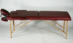 ■送料無料■新品■マッサージベッド 折りたたみベッド 指圧 エステ 整体■レッド■