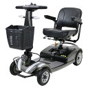 送料無料 新品 電動シニアカート グレー シルバーカー 車椅子 PSE適合 TAISコード取得済 運転免許不要 折りたたみ 軽量 コンパクト 電動カート 四輪車