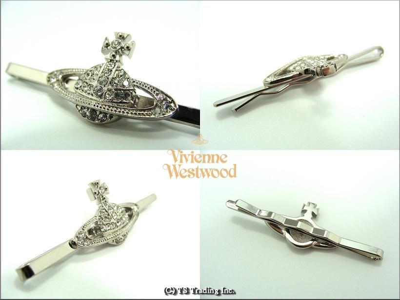 Vivienne Westwood ヴィヴィアンウエストウッド Mini Bas Relief Orb Tie Pin ミニバスレリーフ オーブ ネクタイピン(SV)【あす楽対応】【YDKG-k】【W3】【smtb-k】