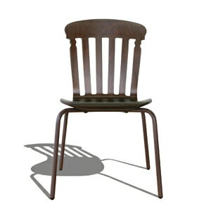 SILHOUETTE CHAIR ALBERT BROWN シルエットチェア アルバート ブラウン:PLAY DESIGN PLAY