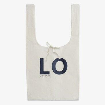 Love & Peace Marche Bag ラブ&ピース マルシェバッグ Design Against Trend デザイン アゲインスト トレンド 愛と平和のマルシェバッグ ナチュラル ペアルック エコバッグ ショルダーバッグ 肩掛け 【あす楽対応_東海】