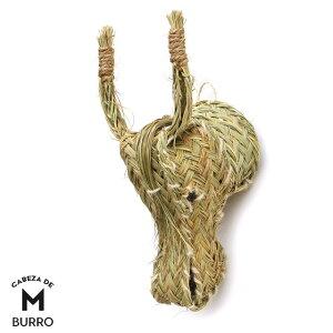 ブッロ Mサイズ CABEZA DE BURRO Medium ロバ 馬 オブジェ 壁掛け M ミディアム 動物 頭
