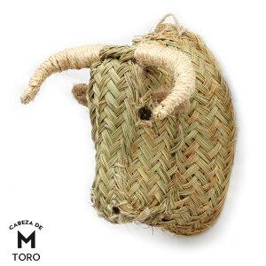 トロ Mサイズ CABEZA DE TORO Medium 牛 ウシ オブジェ 壁掛け M ミディアム 動物 頭