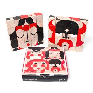 miller goodman ミラーグッドマンFaceMaker フェイスメーカー25個のブロックを使って色んなお顔が作れます木製/パズル/ブロック/知育玩具/ギフト/プレゼント