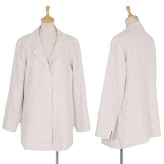 Agnes b.agnes b.混合材料 4 B 夾克亮粉色 3