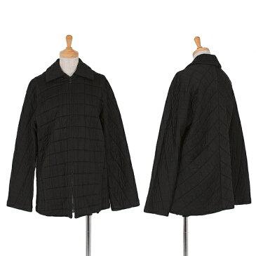 ワイズY's ポリレーヨンキルティングジャケット 黒3【中古】