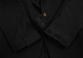コムデギャルソンオムプリュスCOMMEdesGARCONSHOMMEPLUSポリ製品染めジップデザインジャケット黒L【中古】