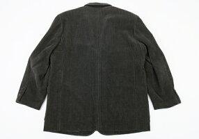 パパスPapasコーデュロイジャケットグレーブラウンM【中古】【メンズ】