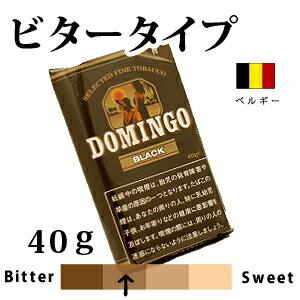 【代金引換限定商品】(手巻き煙草) ドミンゴ ブラック シャグ 40g  [ペーパー付き]
