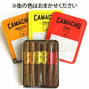 【葉巻セット】 カマーチョ・マチトス 吸い比べ 6本セット コネチカット、クリオロ、コロホの3種類が各2本ずつ入っています [缶ケース入り] [ホンジュラス]