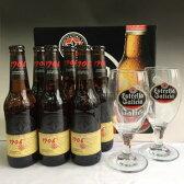 エストレーニャ・ガリシアビール1906レゼルバ・スペシャル6本&オリジナルグラス2個セット【ギフトBOX&送料&税込】