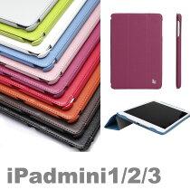 【正規品】【JISONCASEiPadmini】【送料無料】【ipadminiケース】【ipadmini2ケース】【iPadmini3ケース】JS-IM2-07Tipadminiretinaケースオートスリープレザー2マイクjison