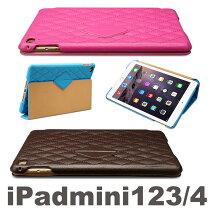 【正規品】【送料無料】【iPadminimini2mini3mini4ケース】キルティングJS-IM4-02H03Hカバーipadminiケースキルトオートスリープレザー