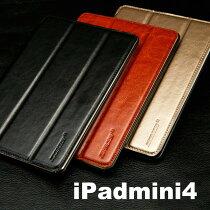 JISONCASE【正規品】【iPadmini4カバー】JS-IM4-02R【送料無料】カバーipadminiケースオートスリープレザー人気レザーケース