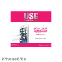 6USG-Clear【iphone6iPhone6s液晶保護フィルム】【送料無料】【iPhone6iPhone6sフィルム】【iPhone6保護シート】アイフォン6アイホン衝撃指紋防止クリア