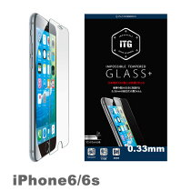0.33mm6s-ITG-Plusiphone6iPhone6S液晶保護ガラスカバー9H強化ガラスiphone6s保護シート保護ガラス