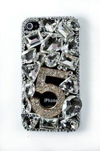 【iphone4S ケース ラインストーン】【iphone4 デコケース】【ラインストーン デコケース】/ス...