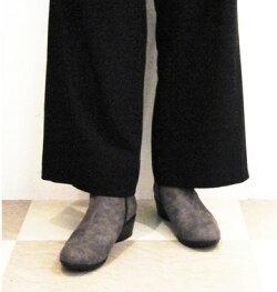 【laverita】9-2321ショートブーツ晴雨兼用はっ水加工/歩きやすい4.5cmウェッジソールクッションインソール,撥水レインブーツ,ラベリータ