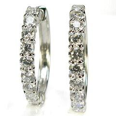 【送料無料】ダイアモンドは永遠の輝き…プレゼントに最適ダイヤピアスダイヤモンドピアス ダイ...