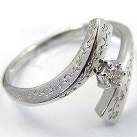 婚約指輪・プラチナ・ダイヤモンド・リング・エンゲージリング・彫刻