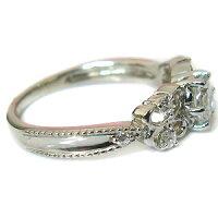 婚約指輪・プラチナリング・ダイヤモンド・アンティーク・蝶・エンゲージリング