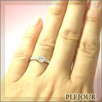 婚約指輪・K18ゴールド・ダイヤモンドリング・エンゲージリング