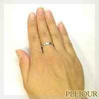 プラチナリングシンプルプラチナ900マリッジリング指輪