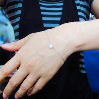 【送料無料】アンクレットK10ダイヤモンドパヴェブレスレット【RCP】P25Apr15