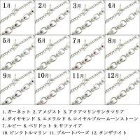 【送料無料】プラチナメンズブレス誕生石ブレスレット【RCP】10P04Jul15