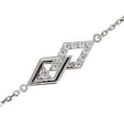 ダイヤモンド 4月誕生石 アンクレット ひし形 レディース ブレスレット プラチナ プレゼント 敬老の日