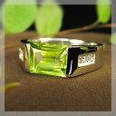 8月誕生石 ペリドット リング 18金ペリドット・リング・K18・指輪