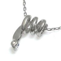 【送料無料】ヘビネックレス一粒ロイヤルブルームーンストーン蛇ネックレス【_包装】【RCP】10P01Nov14