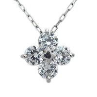 【送料無料】フラワー・ネックレス・ダイヤモンド・10金・花・ネックレス【RCP】10P04Jul15