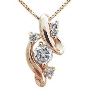 ネックレス・ダイヤモンド・ネックレス・レディース・18金・ネックレス