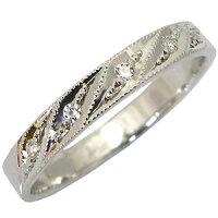 結婚指輪・K18ゴールド・ダイヤモンド・リング・マリッジリング