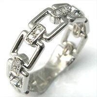 ダイヤモンドリング・k18ゴールド・ダイヤモンド・シルバー・リング