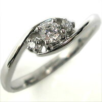 婚約指輪・ダイヤモンド・18金・リング(指輪)・エンゲージリング