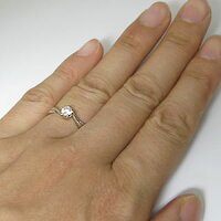 【送料無料】ダイヤモンドリング・エンゲージリング・一粒・プラチナ・婚約指輪・ダイヤリング・ダイアモンド【_名入れ】【RCP】10P01Nov14