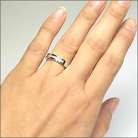 結婚指輪・ブルートパーズ・リング・クロスリング・k18ゴールド・マリッジリング