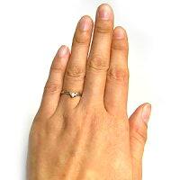 ルビー・プラチナリング・羽根・指輪・一粒