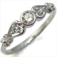 ダイアモンド・指輪・ハート・k18・リング