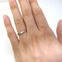 ダイヤモンド・リング・K10・一粒・シンプル・10金・指輪