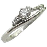 K10・ダイヤモンドリング・一粒・シンプル・10金・ダイアモンド・指輪